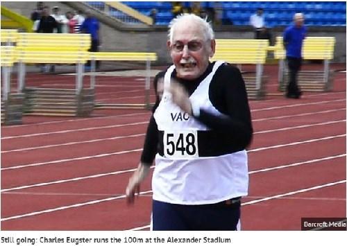 Vận động viên Charles Eugster, 96 tuổi